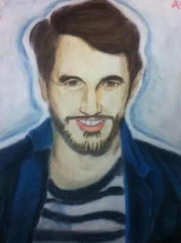 James Franco - Chalk Pastel by HannahRenae