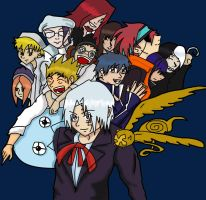D.Gray man group by superjacqui