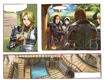 5.Skyrim by Hooded-parrot