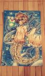 Little Merman-Mad!Cry (feat. Pokemon) Card by Nadi-Chan