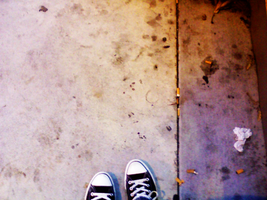 Converse by the Stairs by storybox