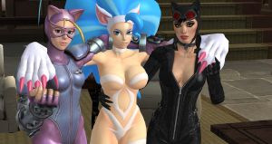 CATWOMEN 2 -Cammy Felicia Catwoman- by cablex452