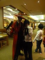 Alucard and Sebastian by blackpanther135