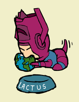 Galactus Pup by DoggonePony