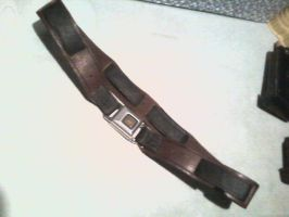Owen Dral leather Jedi Belt 1 by theclothmaster87
