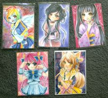 ACEO Commissions by vine-gar