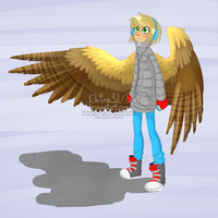 I made a birdkid by Ch4rm3d