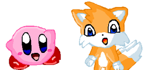 TailsandKirby_for tails-kirby by The-Cactus-Runner
