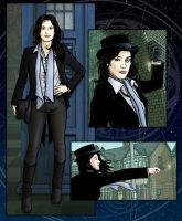 Jaime Murray as The Doctor by PaulHanley