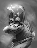 monochrome practice thing by bigblueghost