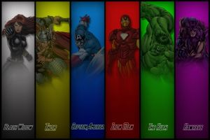 The Avengers by NoobyJake