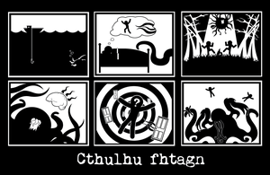 DANGER: Cthulhu mythos by mycathas6toes