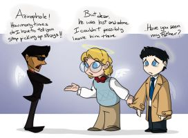 Good Omens SPN - Stray by Jean-Claude17