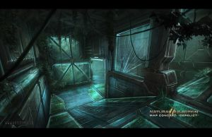 Natural Selection 2 - Derelict Biodome by ArtistMEF
