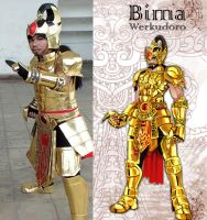 Bima Cosplay by elangkarosingo