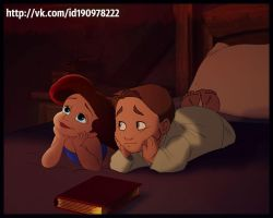 Jim and Ariel by Venus-Mike-Adel-Leo