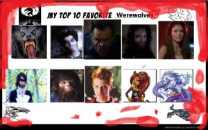 MM13's Top 10 Werewolves. by monstermaster13