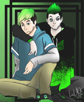 Jack And Anti Dream Team by LuLACk