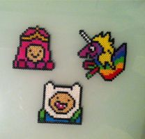 Adventure Time Coasters by conduitgirl
