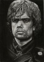Tyrion Lannister-Game of Thrones by vitorassis88