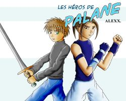 Wall_Palane_Marc and Enkar by kendrawer