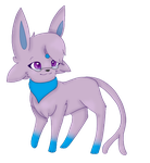 Diamond the Espeon by Emeraldpaws