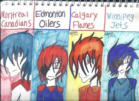 Hockey Bookmarks Page 2 by ukesemeX3