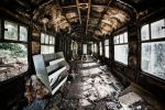 Gutted Train Carriage by drjone1