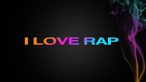 I Love Rap wallpaper by BizzyBeOne