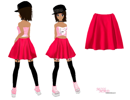 Mmd Tda Long Skirt Wwwpicswecom