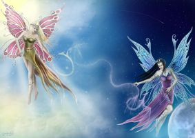 The Magic of Night and Day by CLB-Raveneye