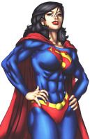 Colors : Superwoman by artoftheman
