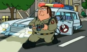 Family Guy Ghostbusters by rgbfan475
