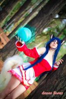 Ahri cosplay photoshoot by Danae Flores 3 by RosseSinner
