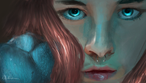 behind blue eyes by iCasseith