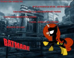 Batmare by batman718