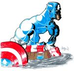 Day 2 Captain America by samax