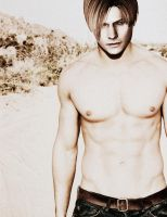 leon_sexy abs_kennedy by cyber-rayne