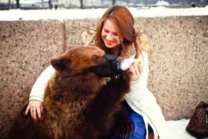 Russian bear by Des-Alagos