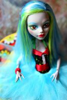 Monster High: Acid Green Ghoulia by Azyntil