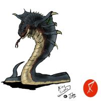 Go G: King Cobra by Vagrant-Verse