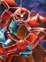 MOBILE SUIT GUNDAM MS-06 by Impelsa
