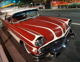 Custom Buick at Night by Swanee3
