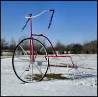 Giant Tricycle by MistressVampy