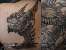 Feb-2015 / Cheshire cat by xandervoron