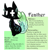 Feather : Reference by Laurel3aby