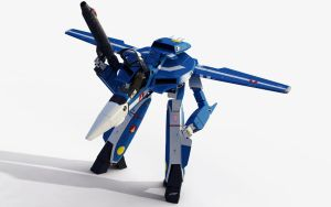 Macross VF-1J by 3D-Brainx