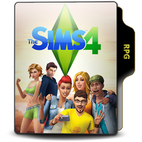 The Sims 4 Folder PNG by lyncon6eco