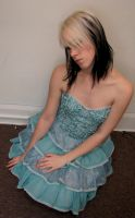 Blue Dress Stock 11 by KristabellaDC3