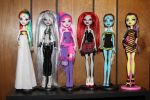6 more Monster High custom dolls by rainbow1977